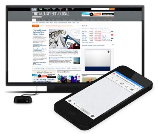 Use your Apple TV as a full-fledged desktop browser with AirBrowser app