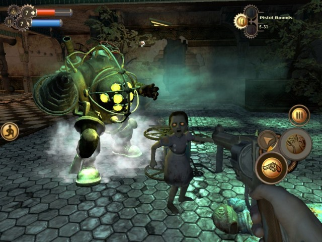 Make way for Big Daddy! Bioshock is coming to iOS this summer