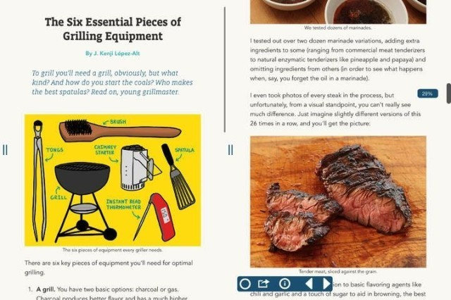 Serious Eats Hits The iOS Newsstand