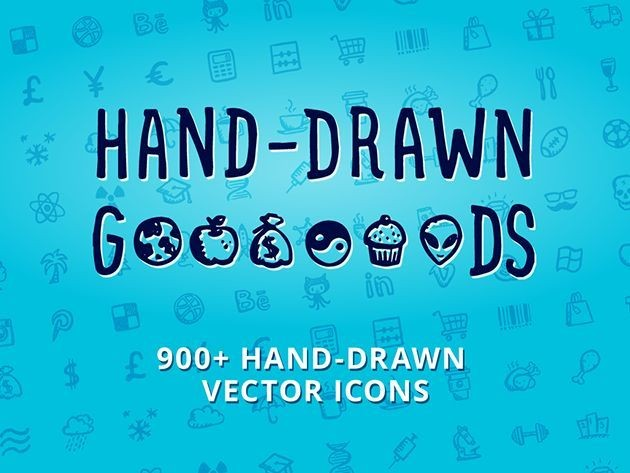 Add The Final Touch to Your Designs With Over 900 Hand-Drawn Icons [Deals]
