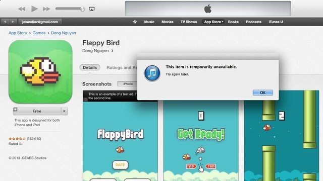 Bids For iPhones With Flappy Bird Nearing $100,000 On eBay