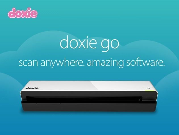 Make 2014 Paperless With The Portable And Rechargeable Doxie Go [Deals]