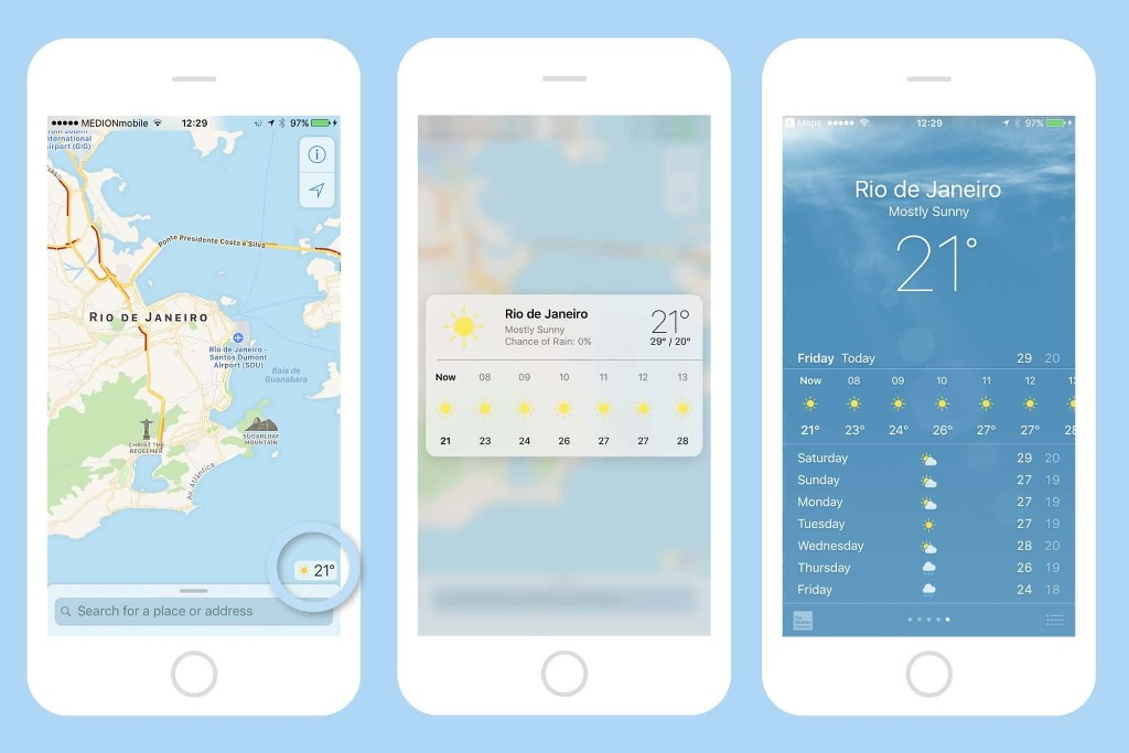 How to use 3D Touch in Maps to see the weather anywhere | Cult of Mac