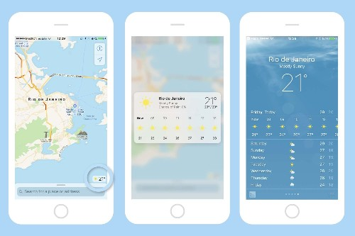 How to use 3D Touch in Maps to see the weather anywhere   Cult of Mac