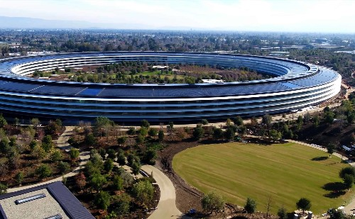 Apple Park is one of Earth's most valuable buildings