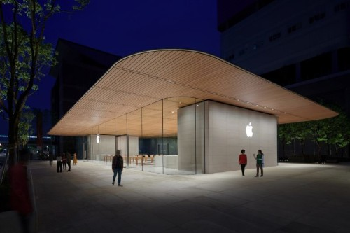 Inside Apple's spectacular new Taipei store, opening Saturday