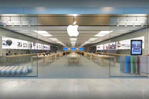 U.K. cops pursue Apple Store thieves with helicopter