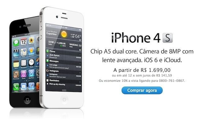 Apple Slashes Prices On The iPhone 4 And iPhone 4S In Brazil