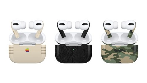 Slickwraps Skins bring style to plain AirPods Pro