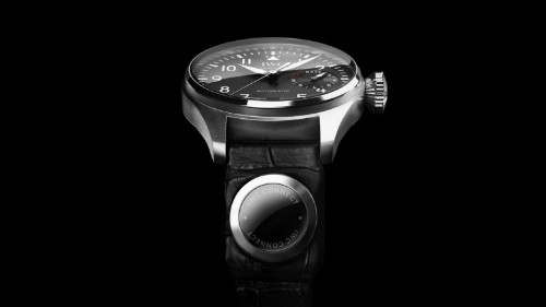 Luxury watchmaker IWC takes on Apple Watch with new strap sensor