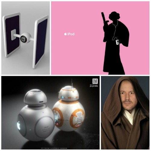 The Fourth is strong with these Apple Star Wars mashups