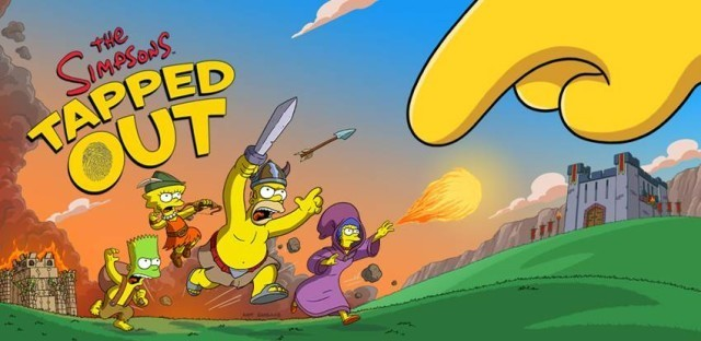The Simpsons takes a swipe at Clash of Clans