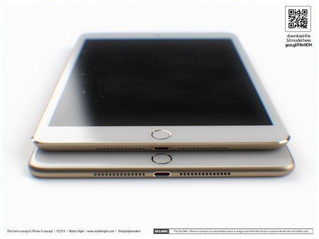 The next iPad mini could be delayed til 2015 to differentiate it from the iPhone 6 Plus