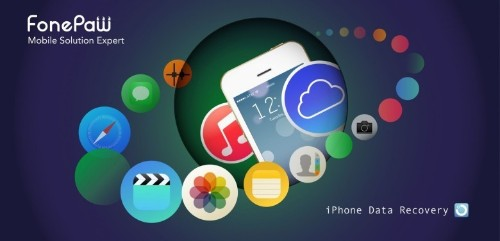 Get your lost iOS files back fast with FonePaw iPhone Data Recovery