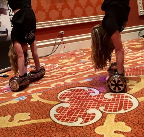 CES Day 3: Hoverboards, doggie 'brain puzzles' and beer