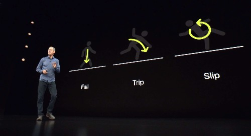 Wicked bike wreck shows importance of Apple Watch hard fall detection