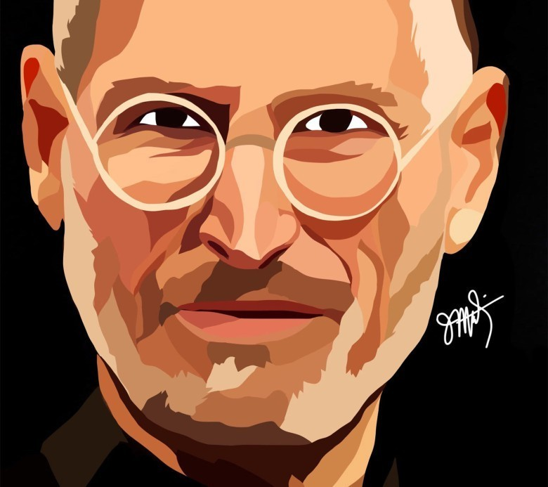 Steve Jobs - A visionary, A genius - cover
