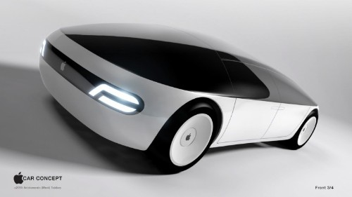 This 'Project Titan' Apple car concept has mind of its own