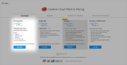 Adobe's Creative Cloud bundle gets a big price increase