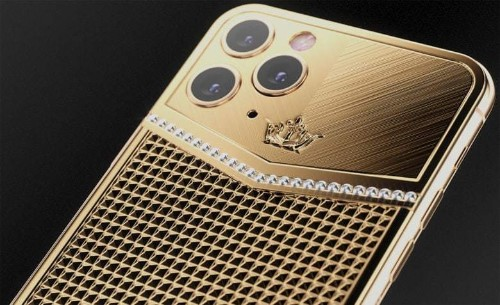 This year's crazy gold iPhone looks surprisingly tasteful