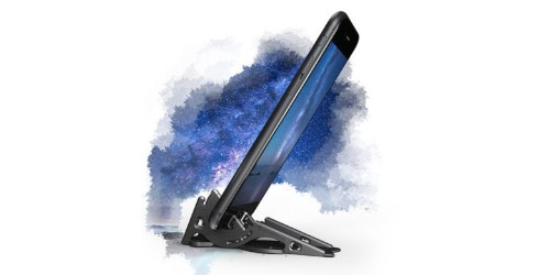 This smartphone tripod folds down to credit card size [Deals]