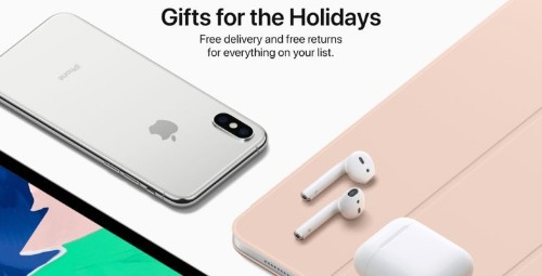 Apple extends return policy for holiday shoppers