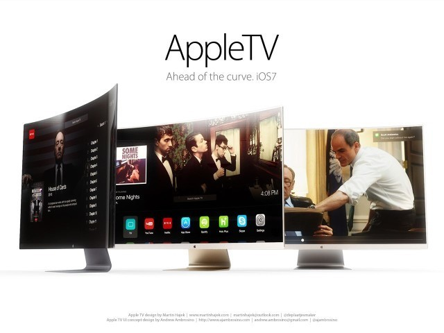 You Won't Believe How Beautiful & Revolutionary A Curved Apple HDTV Could Be [Gallery]