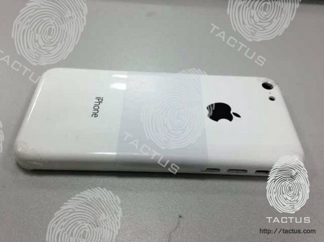 Is This The Budget iPhone's Plastic Casing?
