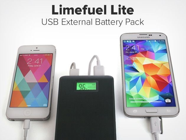 Solve low battery issues with the Limefuel Lite USB Battery Pack [Deals]