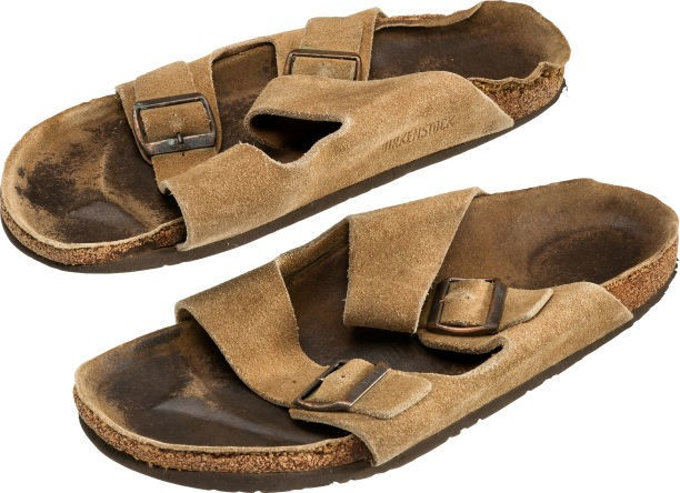 Steve Jobs's smelly old sandals just sold at auction