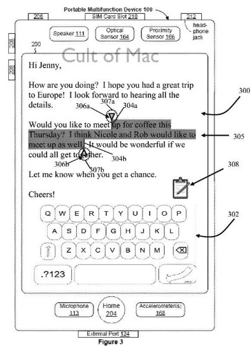 Apple Granted Patent Related To iPhone Text Selection [Patent]