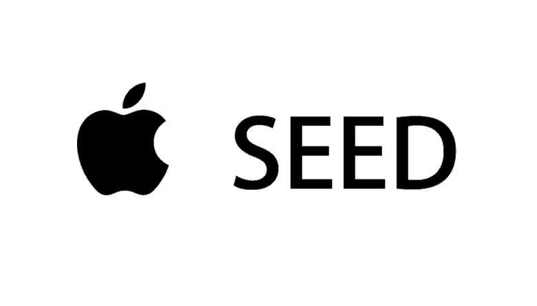 Apple SEED App - Magazine cover