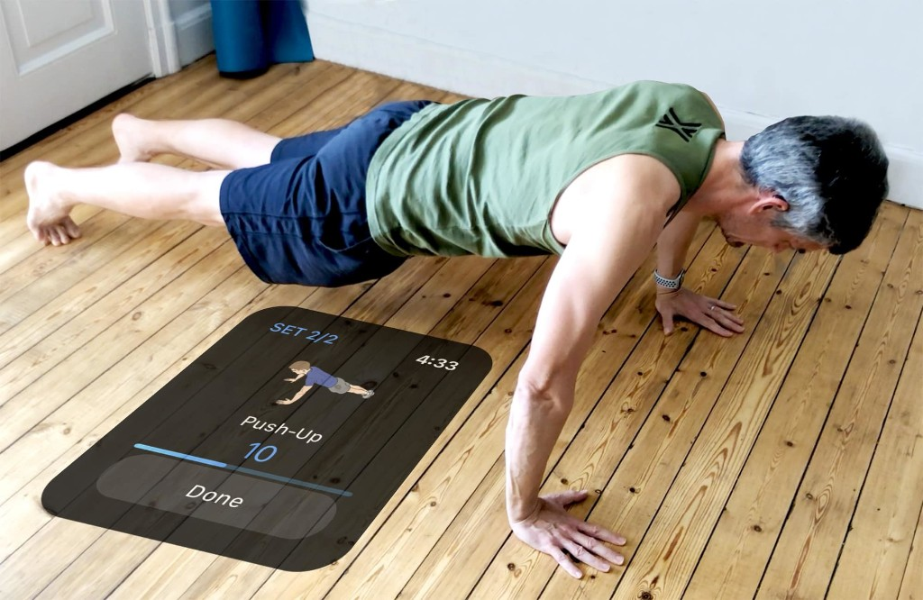 How to perfect your push-ups with Apple Watch and iPhone