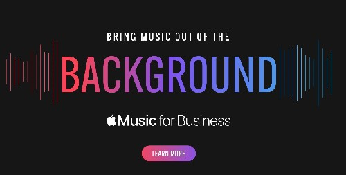 Apple Music for Business gives stores a legal way to stream tunes