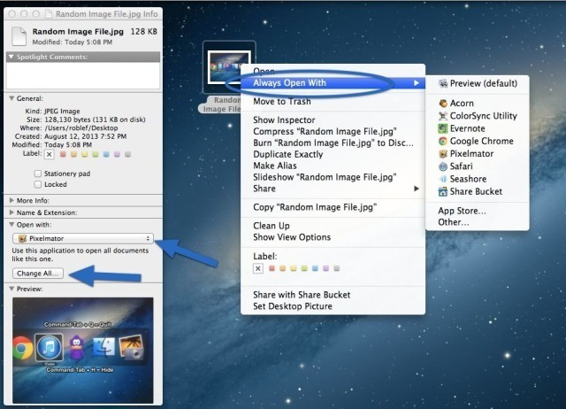 How To Change The Default App For Specific Files Or File Types [OS X Tips]