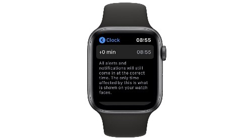 How to make your Apple Watch tell the wrong time