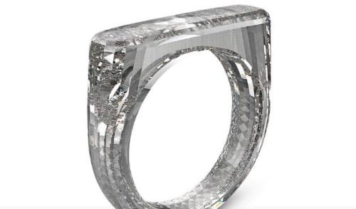 Jony Ive's $250k ring has a unibody diamond