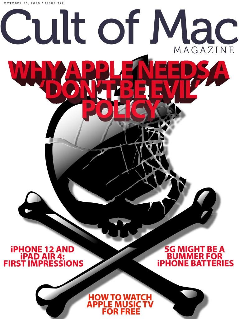 Hey, Apple ... don't be evil! [Cult of Mac Magazine 372] | Cult of Mac