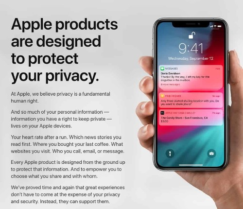 How to download all the data Apple has on you