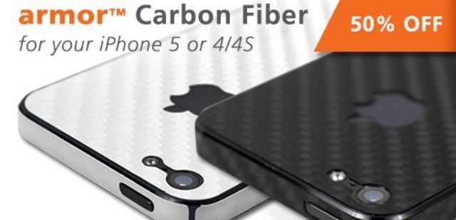 The BodyGuardz Armor Carbon Fiber Skin: Stylish Protection For Your iPhone [Deals]