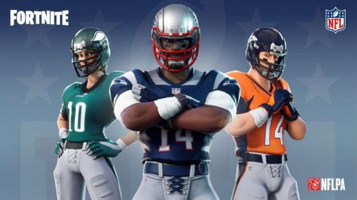 Fortnite is getting real NFL jerseys and new emotes