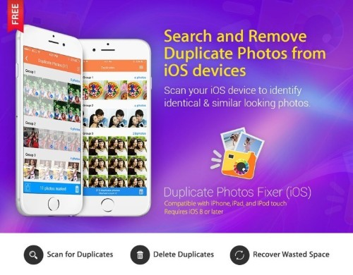 Free up space on your iPhone with Duplicate Photos Fixer