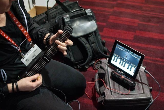 The Cool-As-Hell JamStik iPad Guitar Controller Is Shredding Up An IndieGoGo Campaign