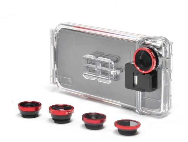 Optrix, The Rugged, Underwater iPhone 5 Case For Photographers
