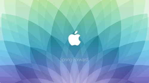 'Spring Forward' wallpapers put Apple Watch invite on your Mac and iPhone