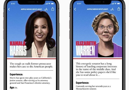 Apple News will guide you through the first 2020 Democrat debate