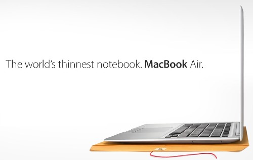 Today in Apple history: MacBook Air becomes 'world's thinnest notebook'