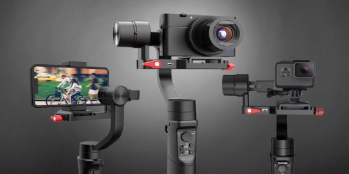 Shoot cinema-quality smooth video with this 3-in-1 discounted gimbal [Deals]
