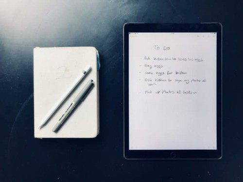 How to replace a paper notebook with your iPad