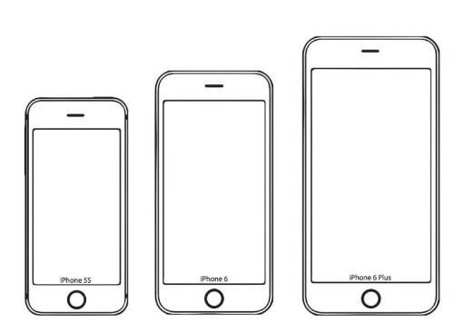 See how the iPhone 6 and 6 Plus fit in your hand right now